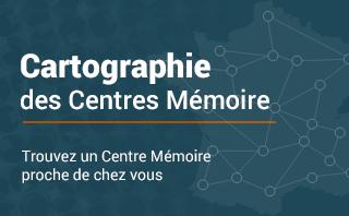 Accès à la cartographie des Centres Mémoire