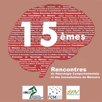15ème Rencontres de Neurologie Comportementale et des Consultations Mémoire