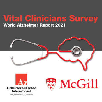 Vital Clinicians Survey, World Alzheimer Report 2021
