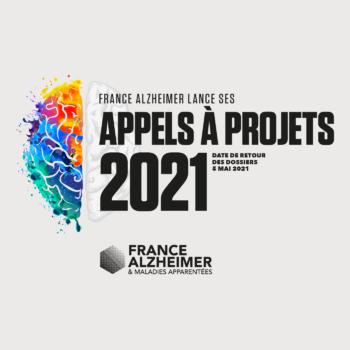 France Alzheimer, Appels à projets 2021